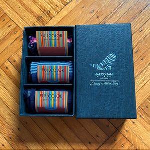 Marcoliani Milano Luxury Italian Socks 3-Pack Set